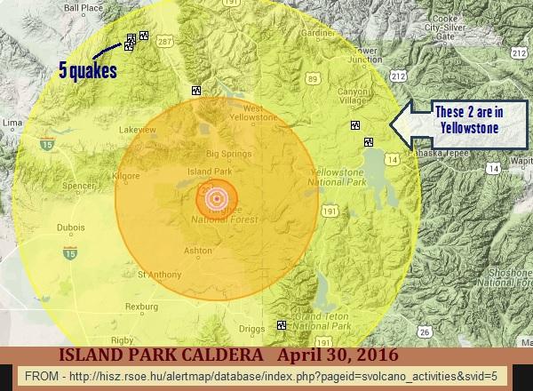 Island Park Caldera Earthquakes Nature Runs Amok At Yellowstone
